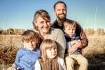 Picture of the Kreutzer family. One of the families that created Open Air Adventure Park in Estes Park, CO.